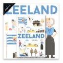 Kaart Zeeland by Jochem staand met magneet