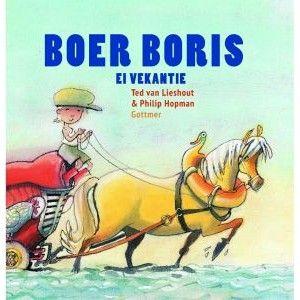 Boek Boer Boris in het Zeeuws